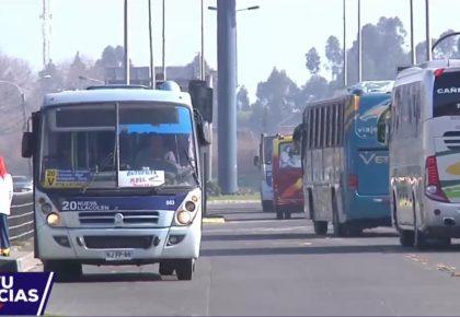 Congestión Vehícular en la Ruta 160 (R. Sanhueza)