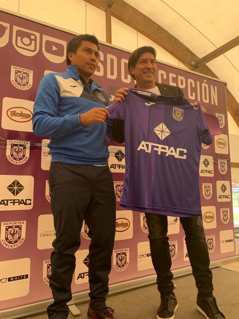 Deportes Concepción Recibió La Visita De Iván Zamorano