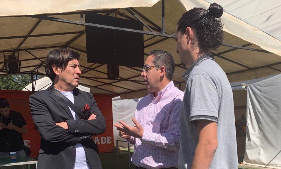 Iván Zamorano Compartió Con El Plantel De Deportes Concepción