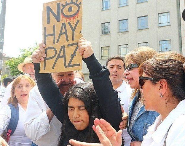 Marcha por la Paz terminó con agresiones en Concepción - TVU