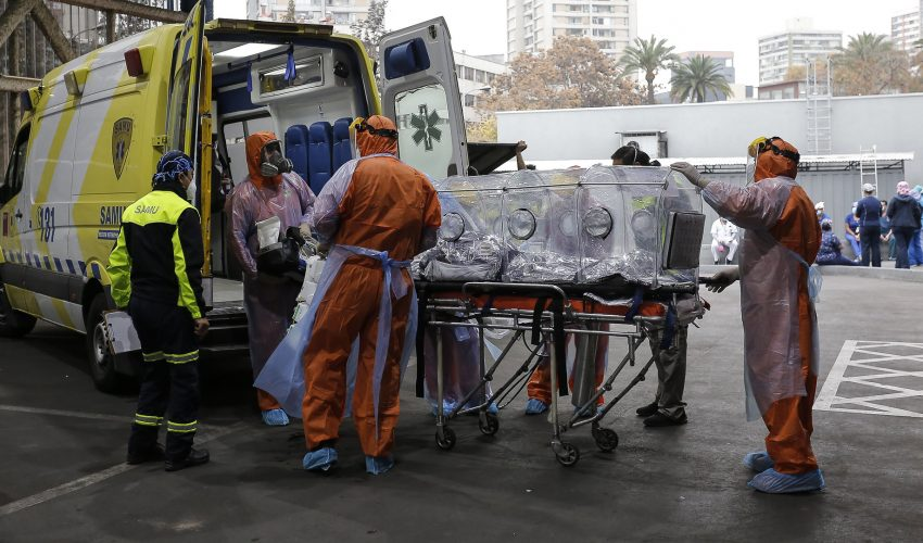 Chile nuevamente supera los 7 mil casos de Covid-19 en un día y registra otros 218 fallecidos