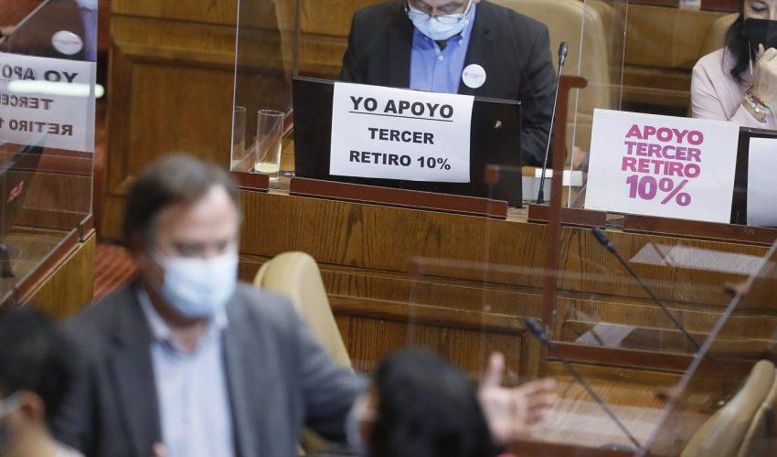 TC decidió no tramitar requerimiento del Gobierno — Tercer retiro